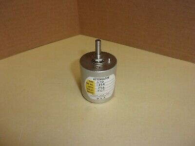 Tech Lab Inc. Attenuator Type 600 Imped 256 , Used