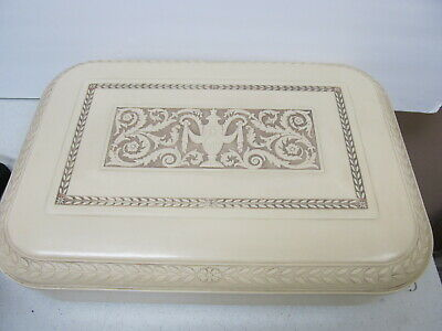 Marshall-White Co Cameo Sterling Flatware Celluloid Storage Chest Svce 12 Xlnt