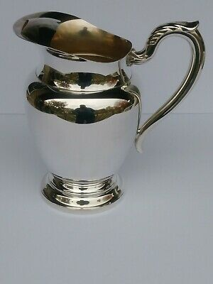 William A. Rogers Silver-plated Pitcher