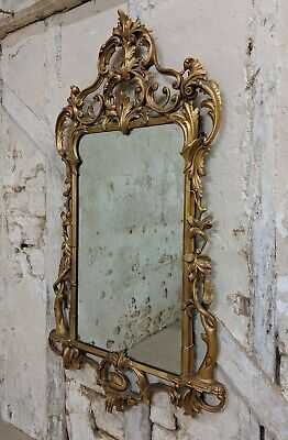 Large Giltwood style Mirror, 18th century Influence