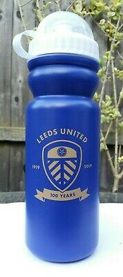 Leeds United F.c Official Football Centenary (1919-2019) Drink Bottle Flask New!