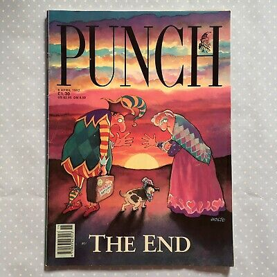 'Punch' Magazine - Final Edition - 8th April 1992