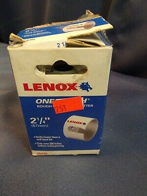 Lenox One Tooth Hole Cutter 2 1/4 Inch