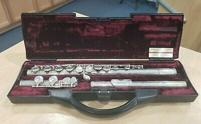 Buffet Crampon Paris Cooper Scale AKC Flute w/ Case Pre-owned Free Shipping