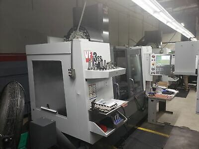 Haas VF-3SS VMC 2014, Renishaw Probing Syst. 4th Axis Drive, HSM, Rigid Tapping