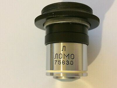 Fluorescence microscope objective Lomo Zeiss water immersion 30x/0.90