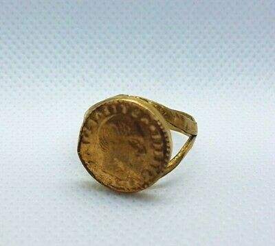 Ancient Bronze Ring Artifact Bronze Ring Authentic Type Rare