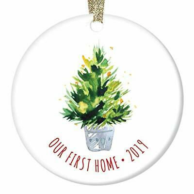 First Time Homeowners Gifts Ornament Dated 2019 Christmas Keepsake Welcome Home