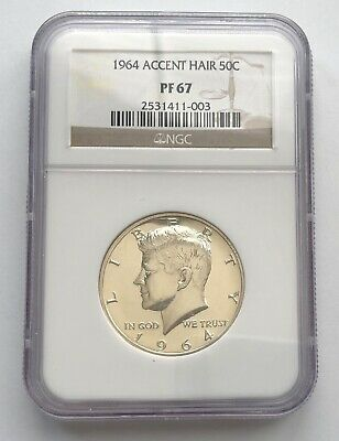 1964 John Kennedy sealed silver proof half dollar with COA.Proof 50c silver coin