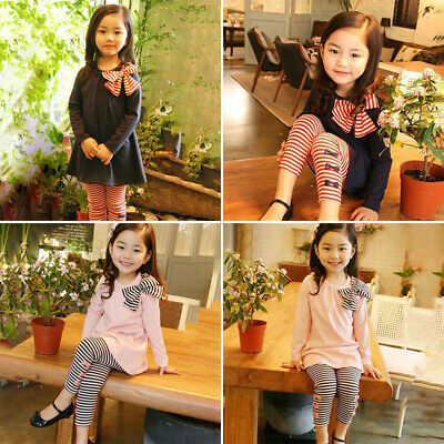 Kids Girls outfit Children Toddlers Girls outfit Lovely Girls Trousers