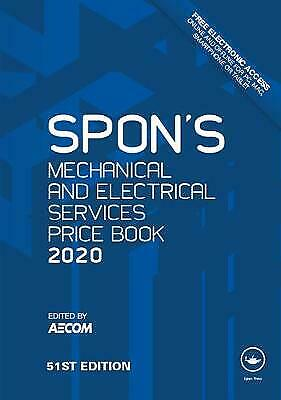 Spon's Mechanical and Electrical Services Price Book 2020 - 9780367271084
