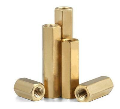 1pcs M16 brass standoff spacer double-pass isolate insulate column 2mm pitch