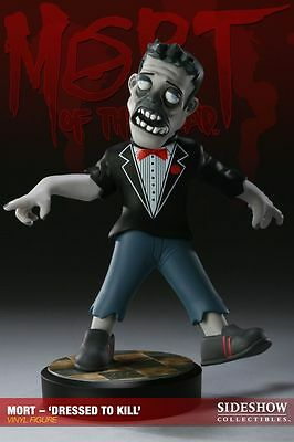 """THE DEAD - Mort 'Dressed to Kill"""" 10"""" Vinyl Figure (Sideshow Collectibles) #NEW"""