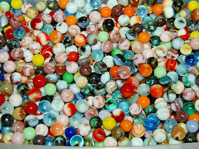 Bulk Wholesale Marbles By The Pound Made In USA Champion,Jabo Swirls,Game 6.49