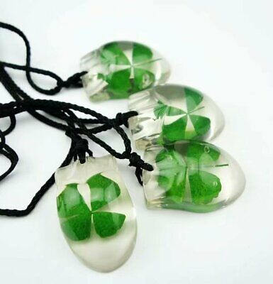 Shop Now  50 pcs magic four leaf clover design shamrock mouse style pendant