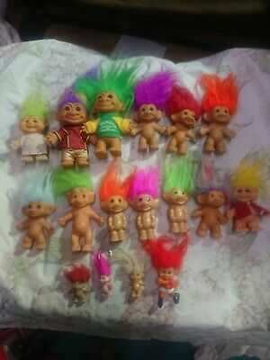 Vintage Troll Dolls. Dam, Russ And More. 17