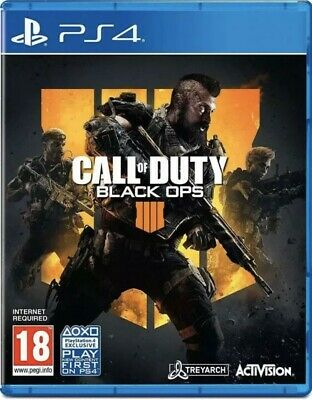 Call of Duty : Black Ops 4 PlayStation 4 PS4 Zombies New & Factory Sealed