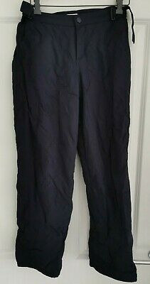 NAVY BLUE SKI TROUSERS / PANTS - Age 12 Years
