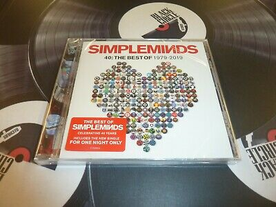Simple Minds - 40: The Best Of 1979-2019 Cd Mint/Sealed