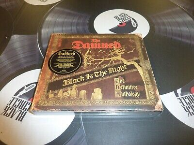 The Damned - Black Is The Night: The Definitive Anthology 2Cd Set Mint/Sealed