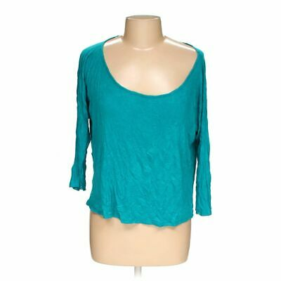 Love Life Live Women's  Shirt size XL,  turquoise,  rayon,  good condition