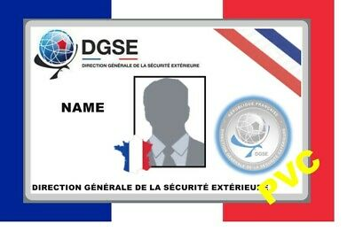 France ID COLLECTOR CARDS <<DGSE>>