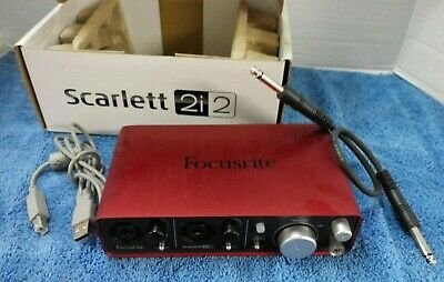 Focusrite Scarlett 2i2 Studio 2nd Gen Recording USB Interface + more FREE SHIP