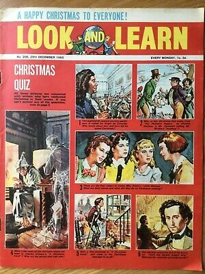Look And Learn  # 206 - 25 December 1965 - Kamchatka - Mexico