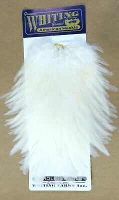 Whiting AMERICAN Rooster Saddle WHITE / BLANC / WEISS