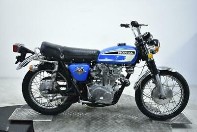 1974 Honda CL450K6 Unregistered US Import Barn Find Classic Restoration Project