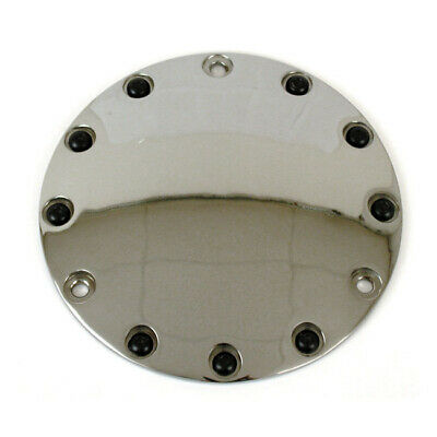 Embrayage Derby Cover Buttonhead, pour Harley - Davidson Big Twin 70 - 98