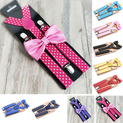 Children Suspenders Kids Toddlers Wedding Belt Stylish Suspenders Boys