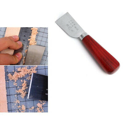 DIY Leather Cut Edge Beveler Groover Skiving Trimming Leather Craft Tools S