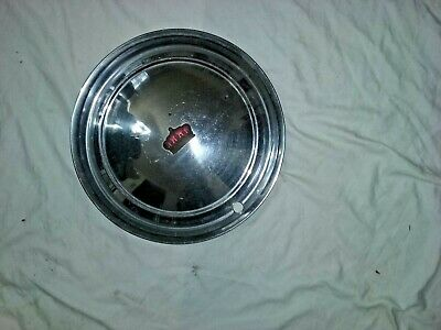 "1951 1952 Chrysler Imperial Hub Cap 15"" Stainless    -H131"