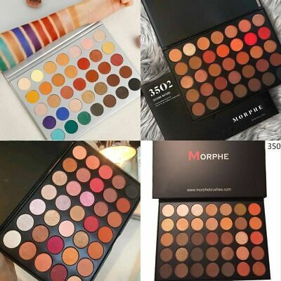 35 COLOR MORPHE BRUSHES EYESHADOW PALETTE NATURE GLOW Kit 35O 350 35F 35O2 35JH