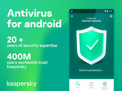 Kaspersky internet security for android 2020 1 Device 1 Year Global