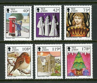 Isle of Man Scott #1603-1608 MNH Christmas 2013 CV$15+