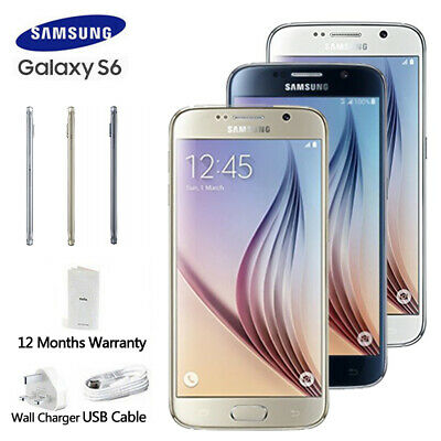 Unlocked New Sealed Box 4G 32GB Samsung Galaxy S6 G920F LTE Mobile  1Yr Warranty