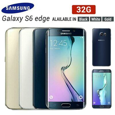 New Factory Unlocked Samsung Galaxy S6 Edge plus SM-G928F 32GB Black Gold White