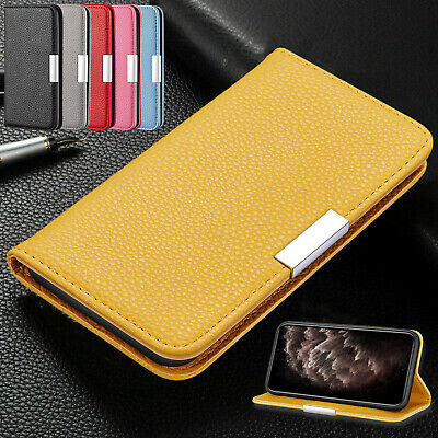 For iPhone 11 Pro Max XS XR 7 8 6s Plus Case Magnetic Flip Leather Wallet Cover