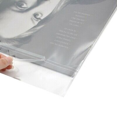 """100PCS 12""""Inches Plastic LP Outer Vinyl Record Sleeves Covers Fit STANDARD SIZE"""