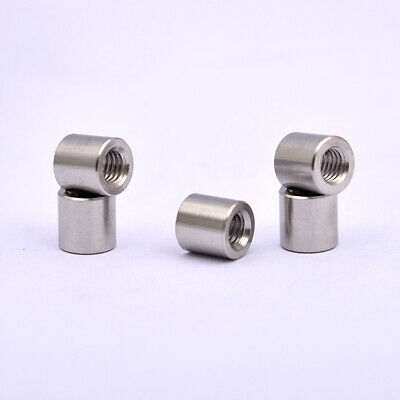 2Pcs M12 x 1.75 pitch Long Rod Coupling Hex Nut Right hand Thread CAPT2012