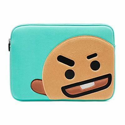 BT21 Official Merchandise by Line Friends - SHOOKY 13 Inch Laptop (Brown)