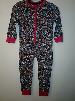 Bnwt Monsters High Girls Cartoon Character All In One Sleepsuit 5-6 Years