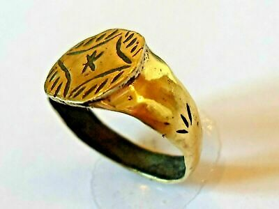 X-Mas Gifts,Detector Find,Medieval/Crusades Religious/Star Of Bethlehem Ae Ring