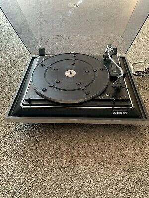 Vintage 1970s BSR Quanta 420 Turntable Record Player in Working Order