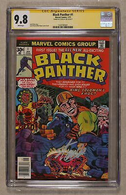 Black Panther #1 CGC 9.8 SS Stan Lee 1323185001