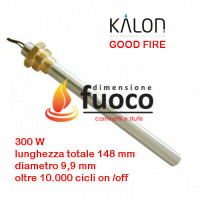 Candeletta Resistenza Accensione Stufa Pellet Kalon - Good Fire  Racc.3/8 - 1003