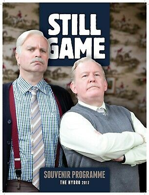 Still Game Live 2 Programme The Hydro Glasgow 2017  Jack And Victor Free Postage