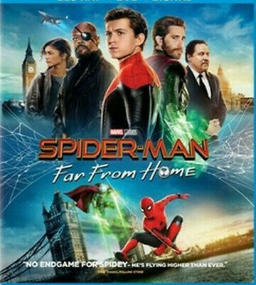 Spider-man: Far From Home (Blu-ray Disc, 2019)